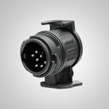 Veokonksu juhtmestiku adapter üleminekuks 13 klemmilt (auto) 7 klemmile (järelhaagis)