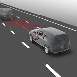 Sõiduraja abisüsteem Lane Trace Assist