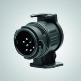 Veokonksu juhtmestiku adapter üleminekuks 13klemmilt (auto) 7klemmile (järelhaagis)