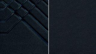 """""""Black"""" - sėdynės su daline dirbtinės odos apdaila"""
