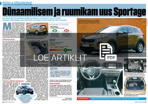 Autoleht: Dünaamilisem ja ruumikam uus Sportage