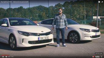 Motors24 proovisõit - Kia Optima PHEV
