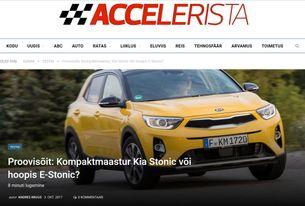 Accelerista: Kompaktmaastur Kia Stonic või hoopis E-Stonic?