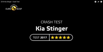 Kia Stinger NCAP test
