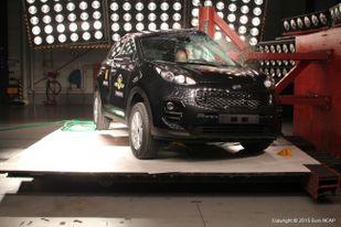 Новые Kia Optima и Sportage получили максимальные 5 звезд в тестах безопасности