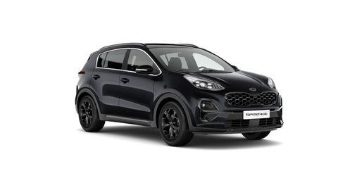 Sportage MY21 1,6 T-GDI EX 2WD 7DCT Black Edition
