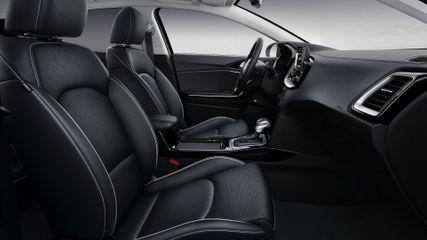 Leather Pack (nahksisu, elektriliselt juhitav mälufunktsiooniga ja elektriliselt reguleeritava nimmetoega juhiiste, ventileeritavad esiistmed, tagumiste istmete soojendus) Sisaldab VSAA51
