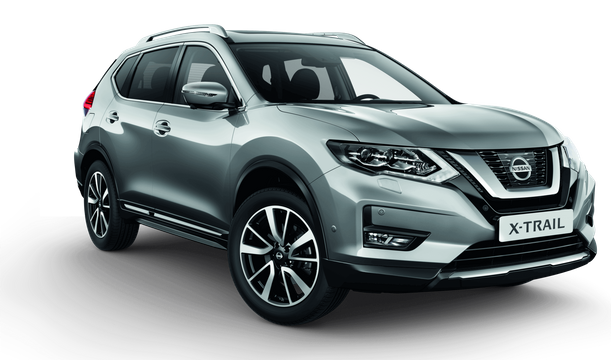 X-Trail DIG-T 160 N-Connecta 2WD DCT 5 istekohta