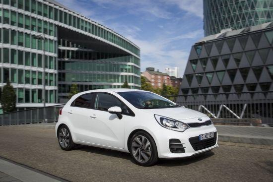 Kia Rio uuenenud mudeli esmaesitlus Pariisi autonäitusel