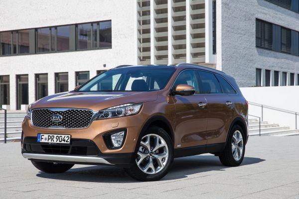 """""""Euro NCAP"""" saugumo bandymuose naujasis """"Kia Sorento"""" buvo įvertintas penkiomis žvaigždutėmis"""