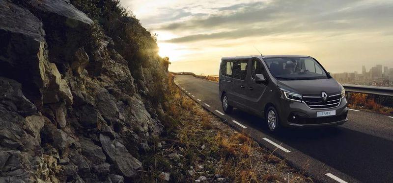 Naujasis Renault Trafic